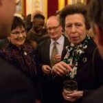 The Princess Royal this evening gave the National Council for Voluntary Organisations' Annual Hinton Lecture