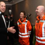 HRH The Duke of Cambridge attended the London Air Ambulance Gala Dinner
