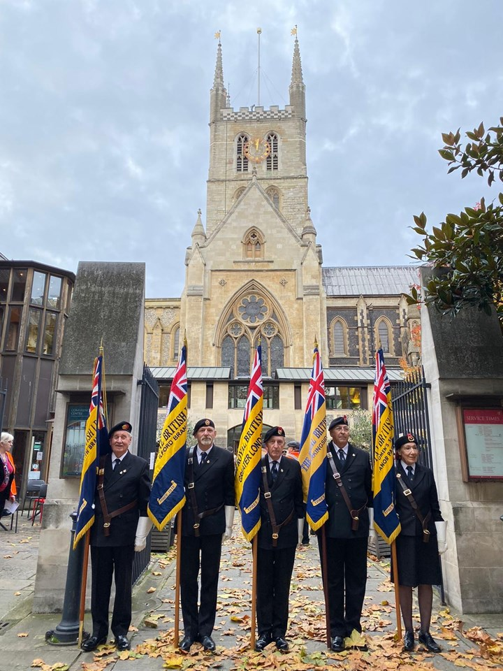 HRH The Duke of Gloucester attends the Railway Workers Centenary Memorial Service