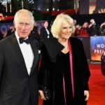 The Prince of Wales and The Duchess of Cornwall this evening attended the Royal Film Performance of 1917