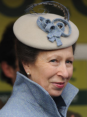 The Princess Royal this evening attended the Twentieth Anniversary Service of Remembrance at the Albin Memorial Garden