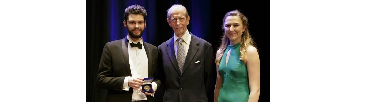 The Duke of Kent attends the Trinity Lavan Gold Medal Showcase