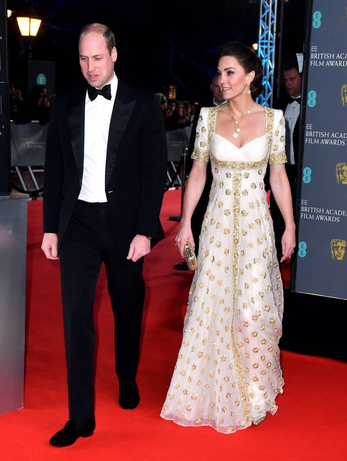 The Duke and Duchess of Cambridge attend BAFTA Awards