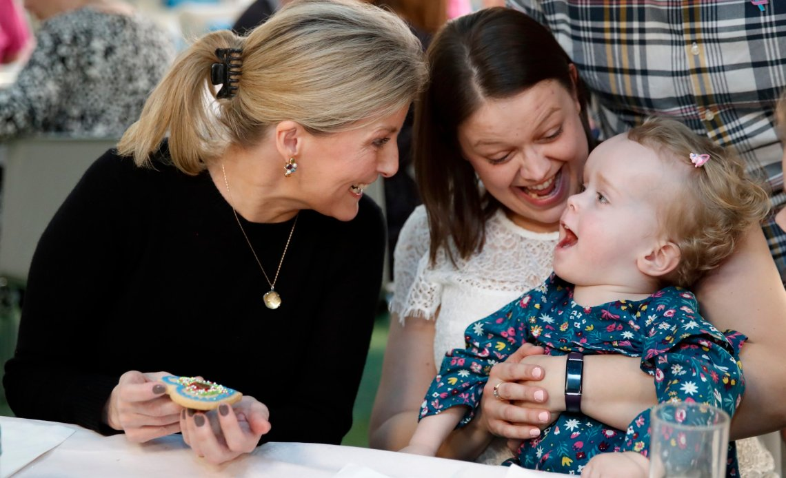 The Countess of Wessex visits Shooting Star Children's Hospice.