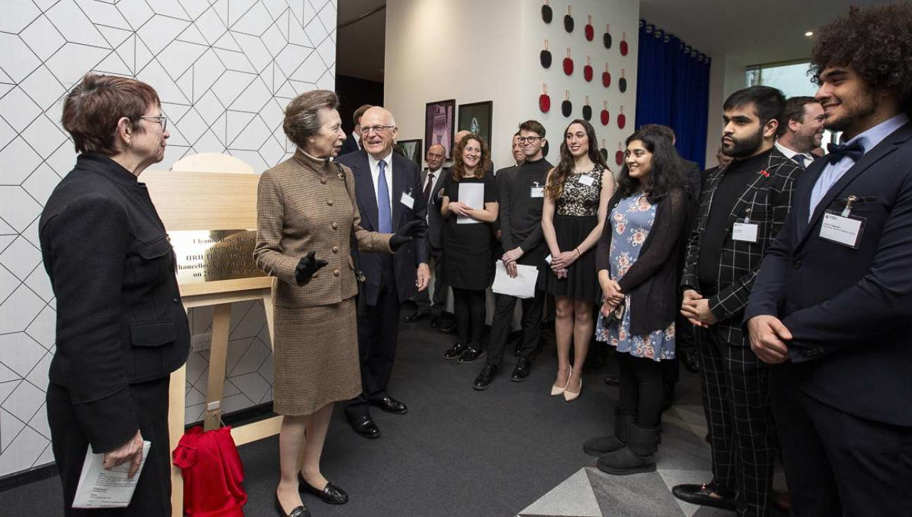 The Princess Royal opens Eleanor Rosa House, a University of London flagship development.