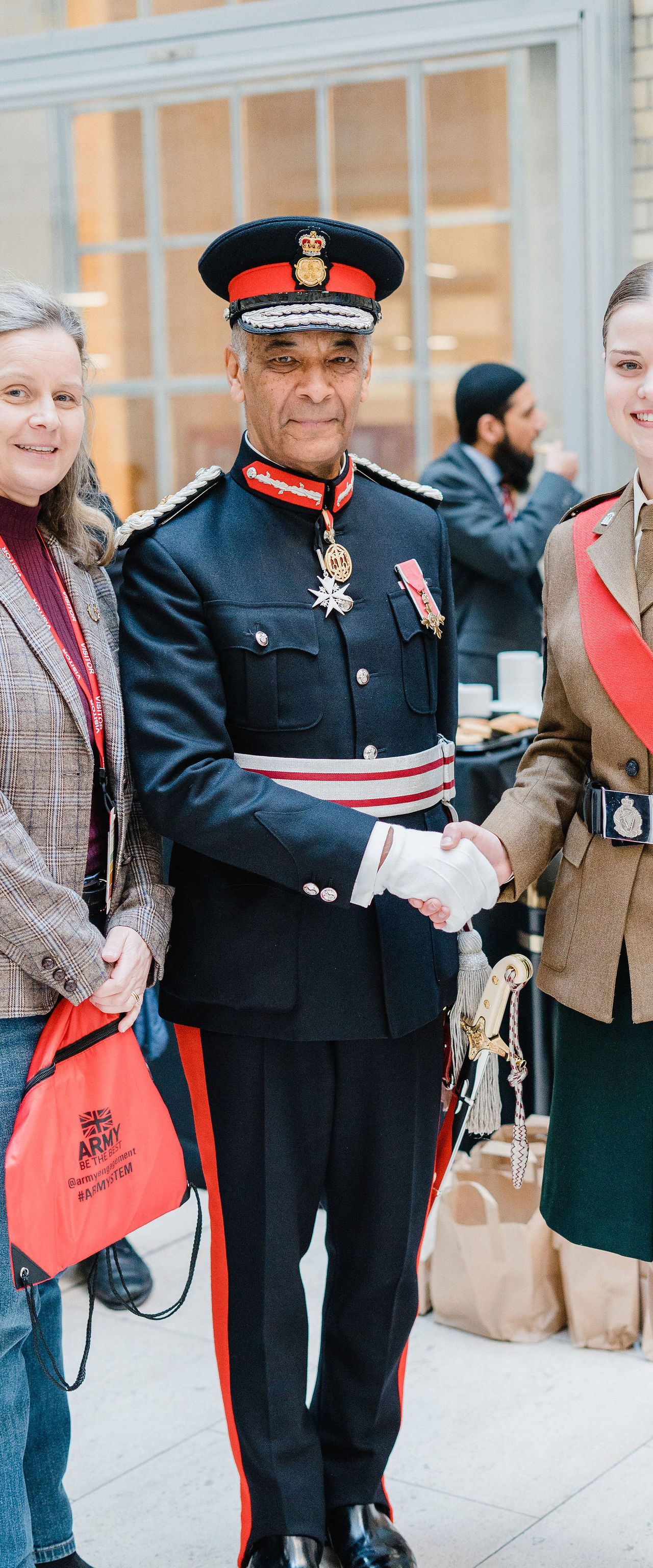 The Lord Lieutenant attends Never Such Innocence Community Roadshow