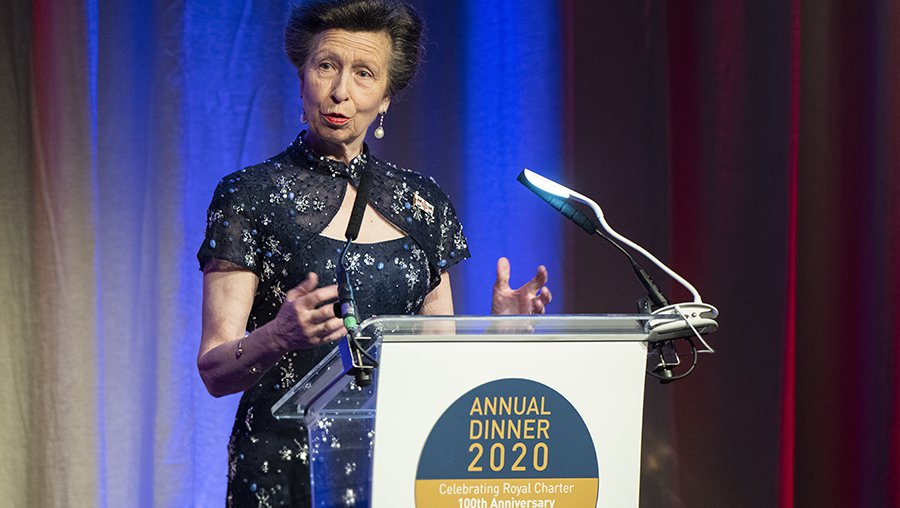 The Princess Royal attends UK Chamber of Shipping Annual Dinner