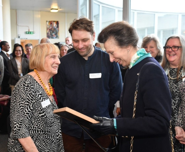 The Princess Royal Visits Camden Carers Centre, to mark 25th Anniversary