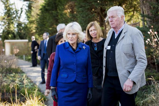 The Duchess of Cornwall visits the Maggie's Centre, Royal Marsden Hospital