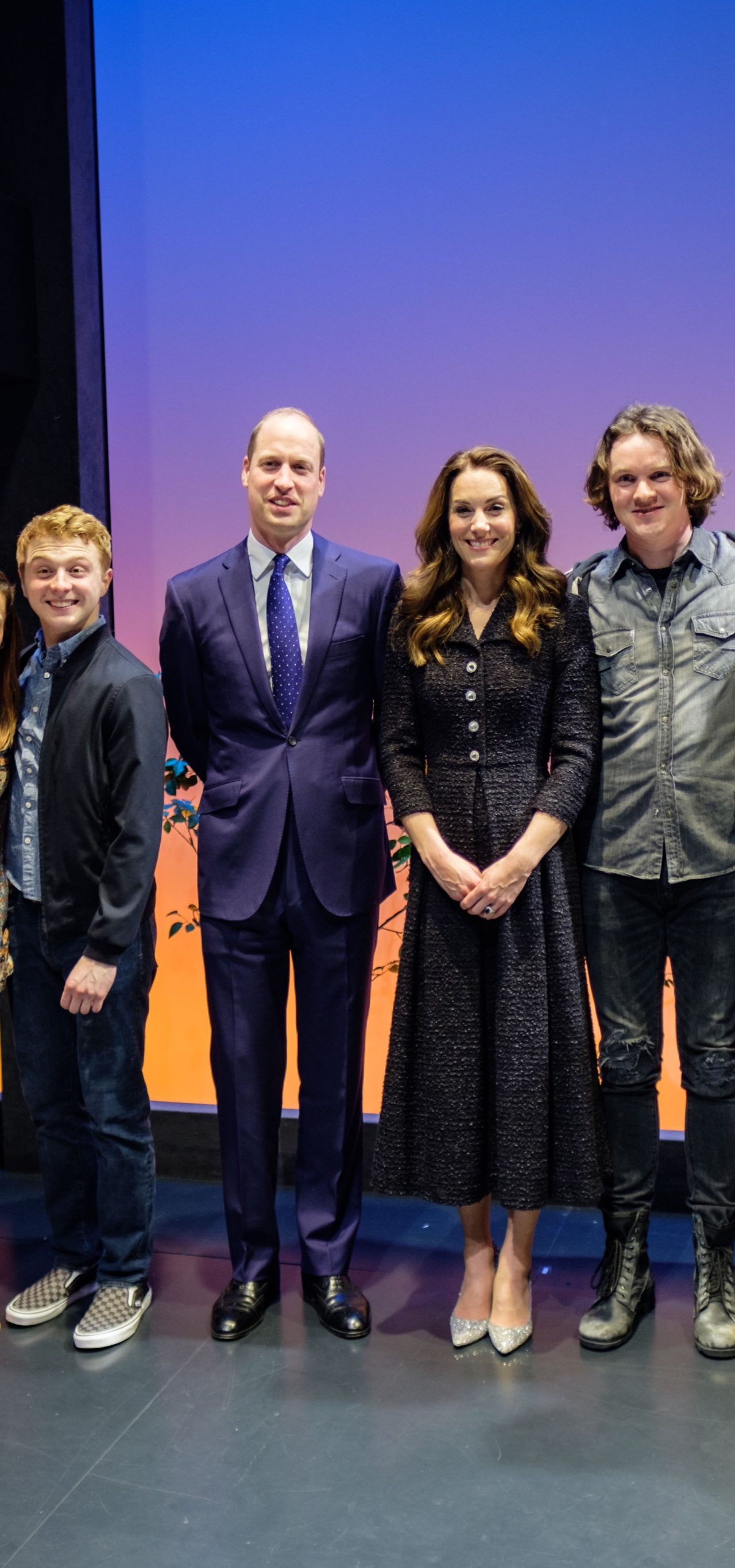 The Duke and Duchess of Cambridge attended a performance of 'Dear Evan Hansen'.
