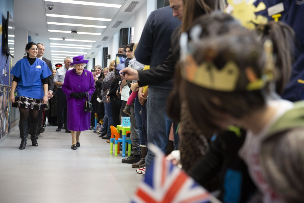 The Queen opens the Royal National ENT and Eastman Dental Hospitals