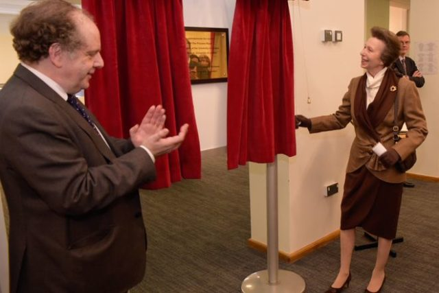 The Princess Royal attended a Reception to commemorate the Centenary of Birkbeck joining the University of London