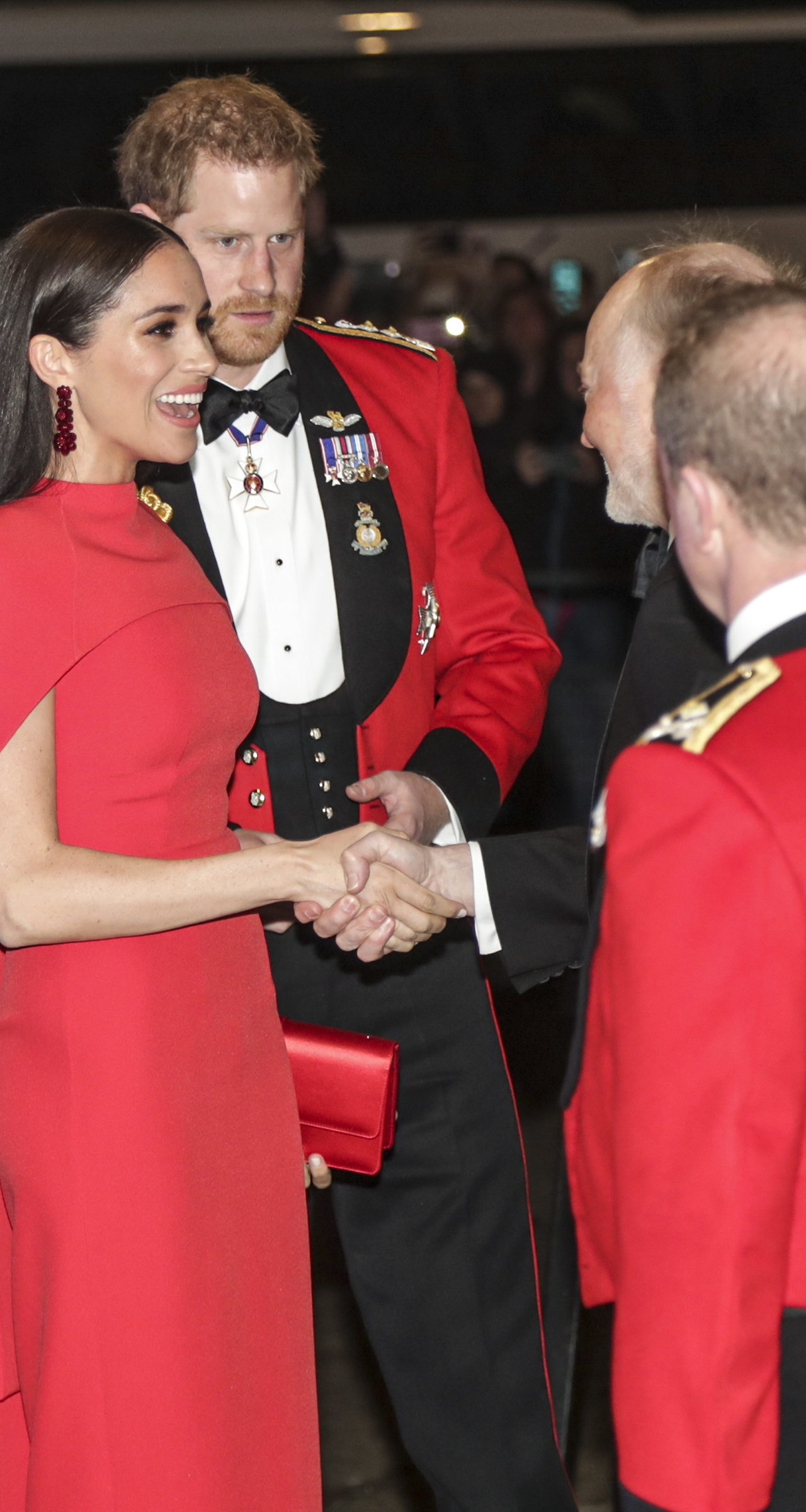 The Duke and Duchess of Sussex attend the Mountbatten Festival of Music at the Royal Albert Hall