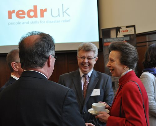 Her Royal Highness attended a RedR UK Reception at the Institution of Structural Engineers
