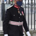 The Lord Lieutenant of Greater London attends service at Westminster Abbey to mark centenary of burial of Unknown Warrior