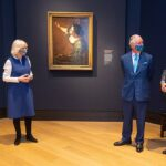 The Prince of Wales and The Duchess of Cornwall visit the National Gallery