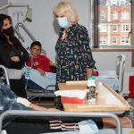 The Duchess of Cornwall visits the Whittington Hospital