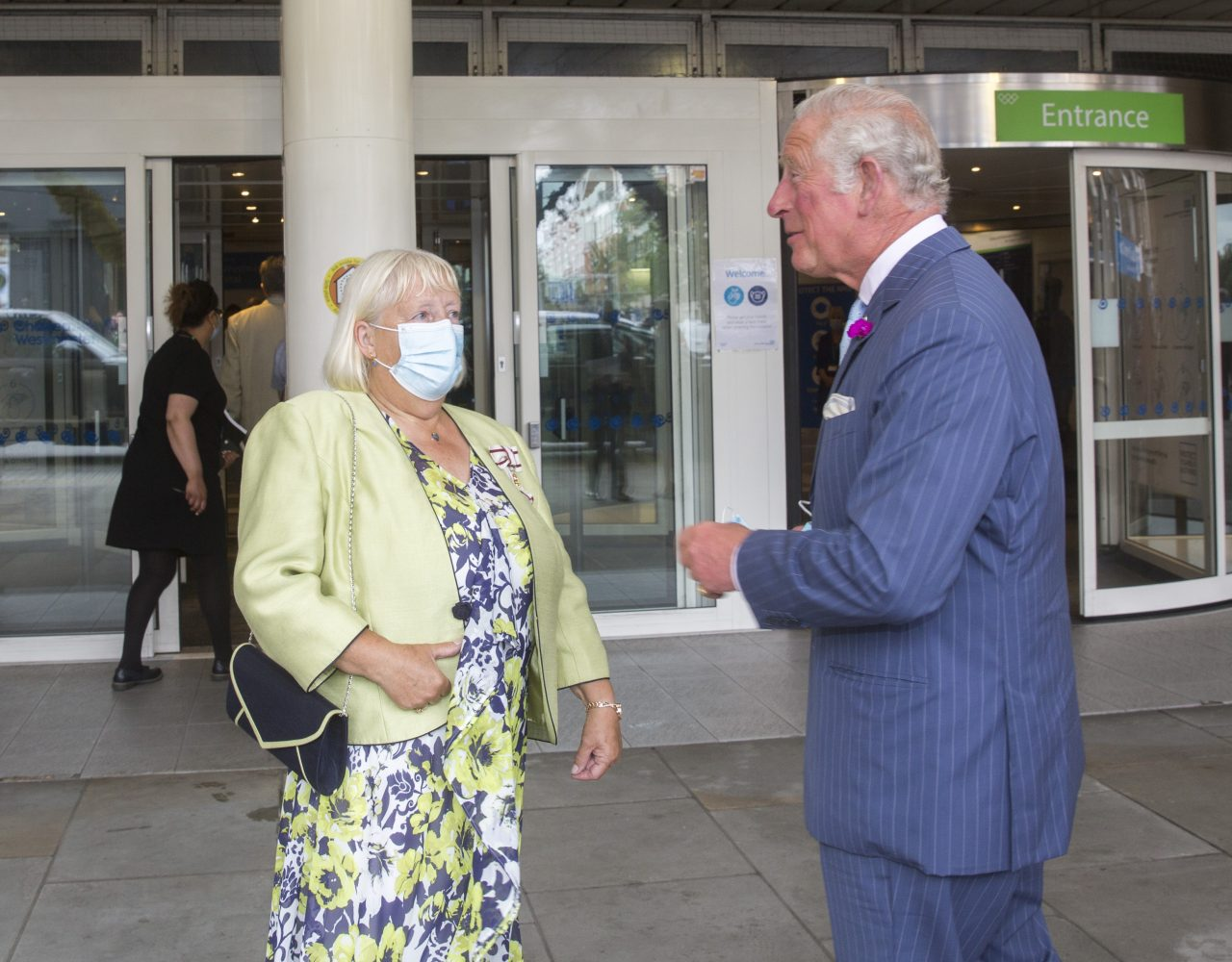 The Prince of Wales visits Chelsea and Westminster Hospital
