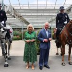 The Prince of Wales and The Duchess of Cornwall visit Theatre Royal