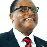 The President of the Republic of Malawi arrives in the United Kingdom