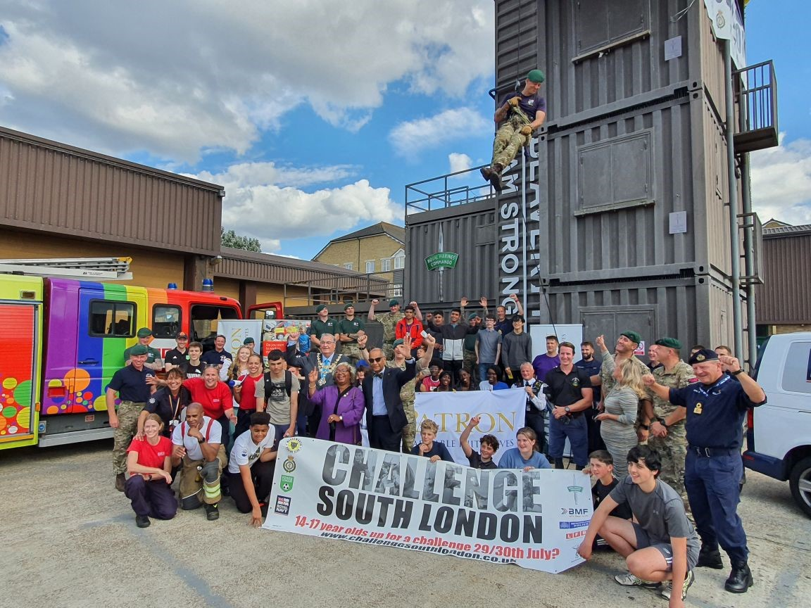 The Lord-Lieutenant visits Challenge South London