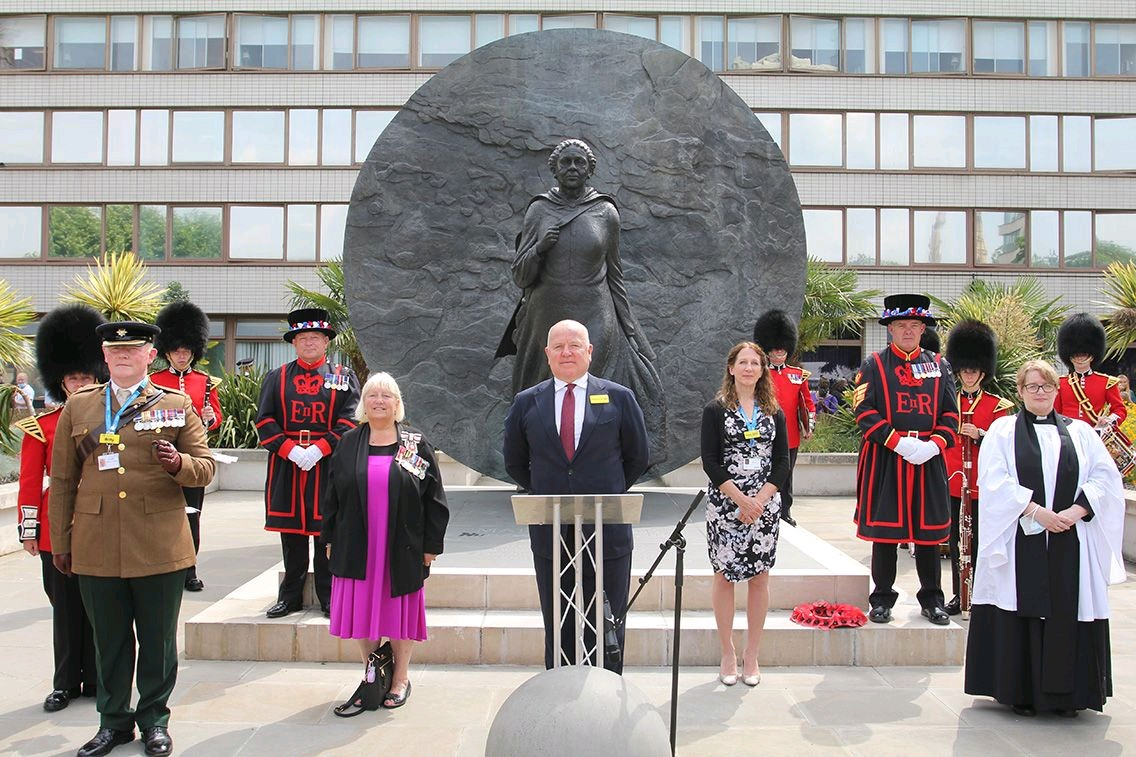 The Vice Lord-Lieutenant attends Armed Forces Day Event at St Thomas'