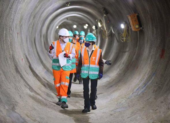 The Princess Royal visits Thames Tideway Tunnel